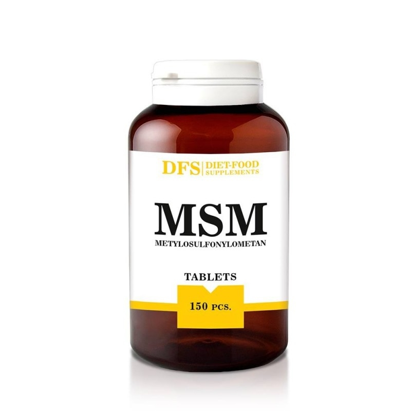 MSM  750mg, 150cps - Diet-Food