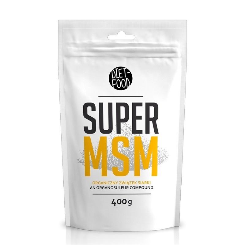 Super MSM pulbere, 400g - Diet-Food