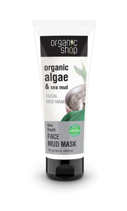 Masca faciala cu namol si extract de alge Sea Depth, 75 ml - Organic Shop