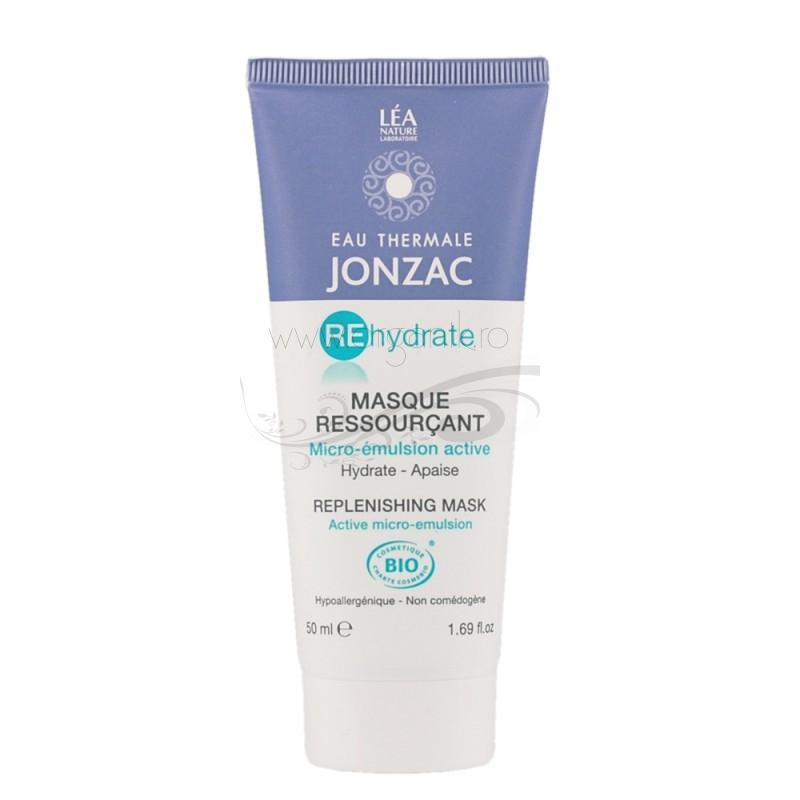 Masca regeneranta cu apa termala pentru orice tip de ten deshidratat, REhydrate 50ml - JONZAC