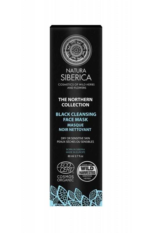Masca neagra purificatoare Black Mask, Northern Collection 80ml - Natura Siberica