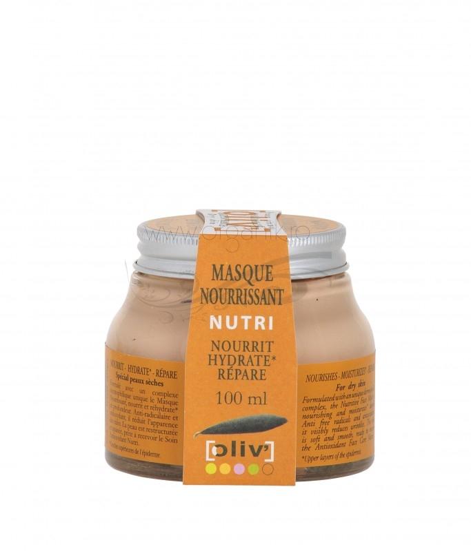 Masca faciala nutritiva pentru ten uscat, 100 ml - Oliv la Claree