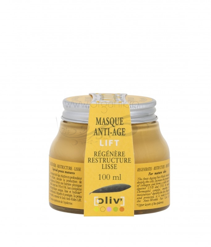 Masca antiage cu efect de lifting, 100 ml - Oliv la Claree
