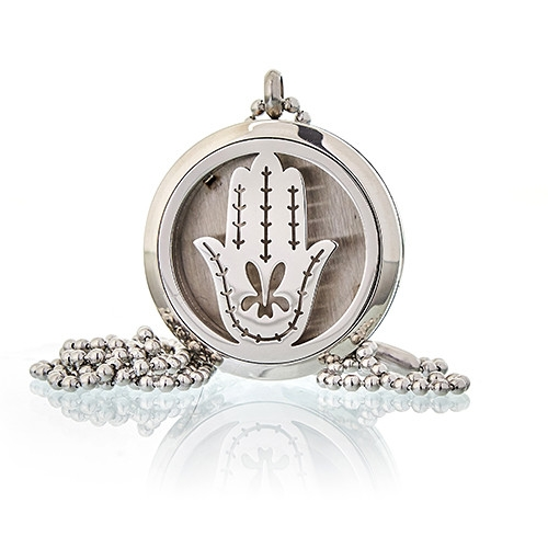 Medalion aromaterapie Hand of Fatima, 30mm - Ancient Wisdom