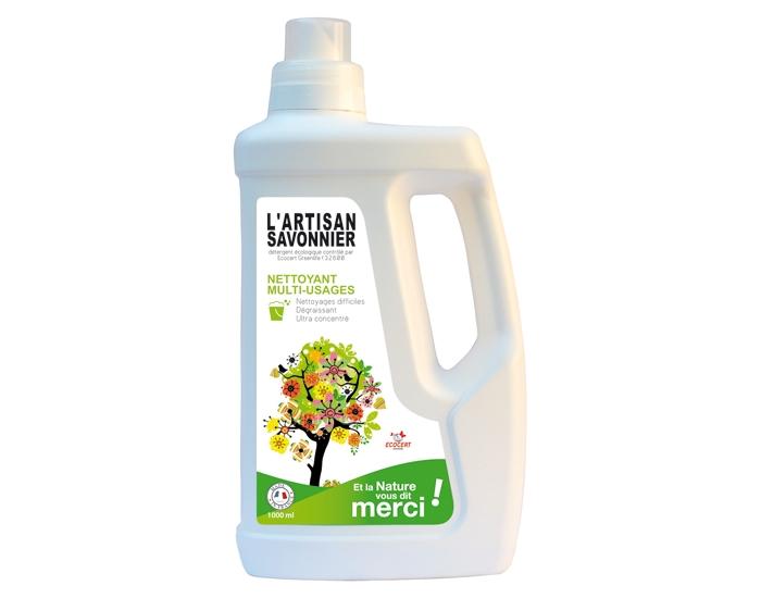 Detergent ecologic universal, degresant, ultraconcentrat, 1L - Artisan Savonnier