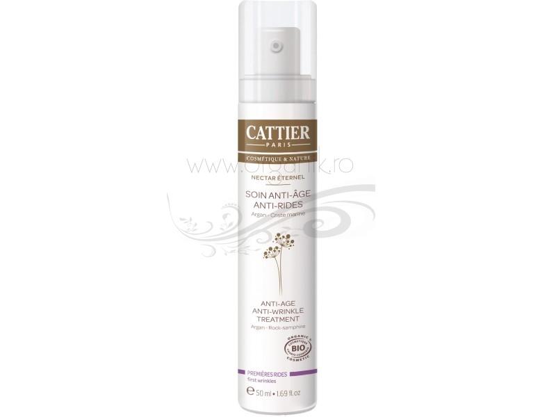 Tratament bio antirid cu ulei de argan, Nectar Eternel - CATTIER