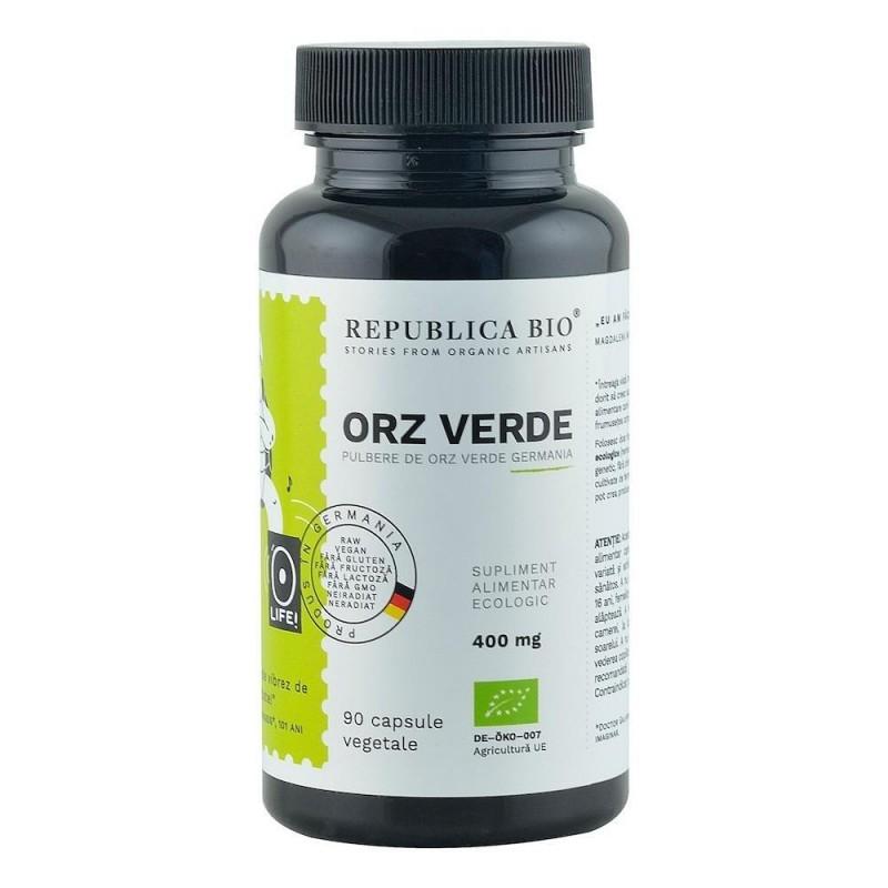 Orz Verde Ecologic din Germania (400 mg), 90 capsule -  Republica BIO