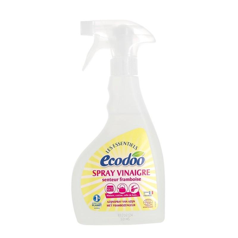 Otet bio pentru menaj cu aroma de zmeura, spray 500 ml - Ecodoo