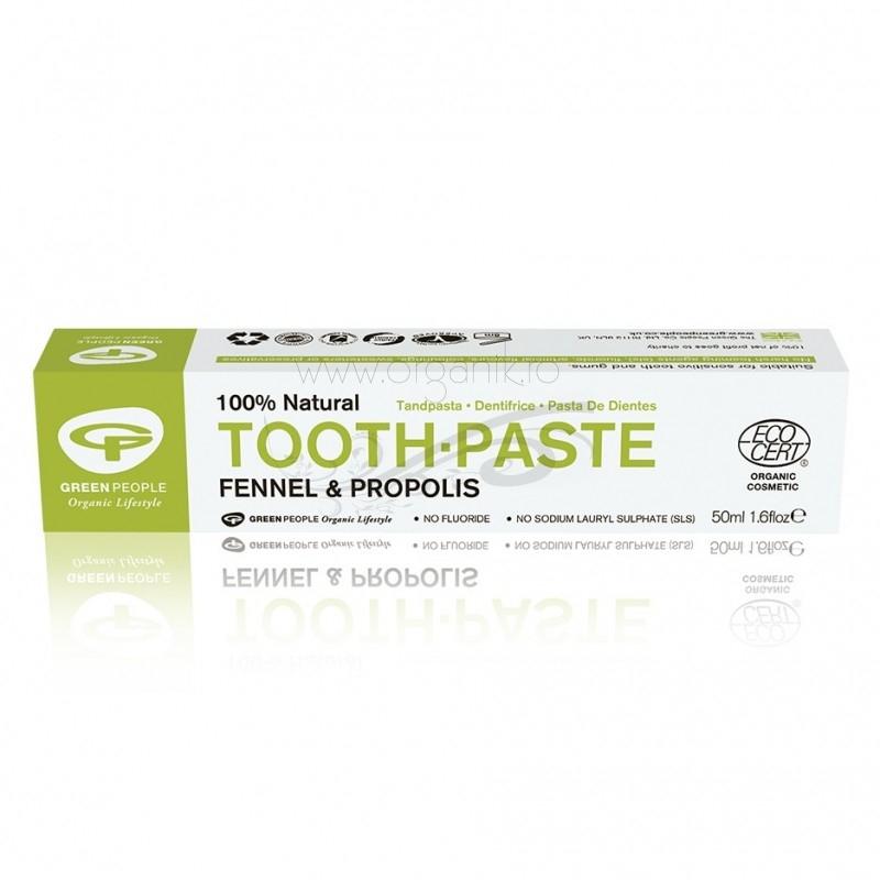 Pasta de dinti naturala cu fenicul si propolis - Green People