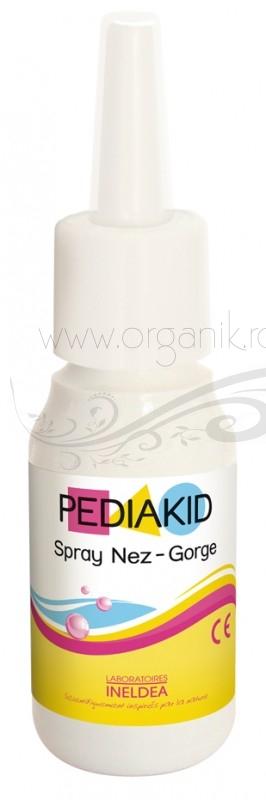 Pediakid NEZ GORGE SPRAY raceala nas si gat, pentru bebe si copii, 20 ml- PEDIAKID