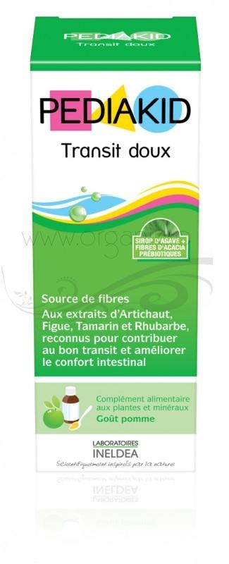 Pediakid TRANSIT DOUX pentru tranzit digestiv si constipatie la copii, sirop 125 ml - PEDIAKID