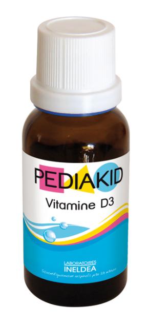 Pediakid Vitamina D3 naturala pentru bebe si copii, picaturi 20 ml - PEDIAKID