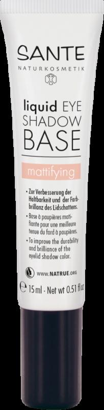 Primer matifiant baza pentru fard de pleoape, 15 ml - SANTE NATURKOSMETIK