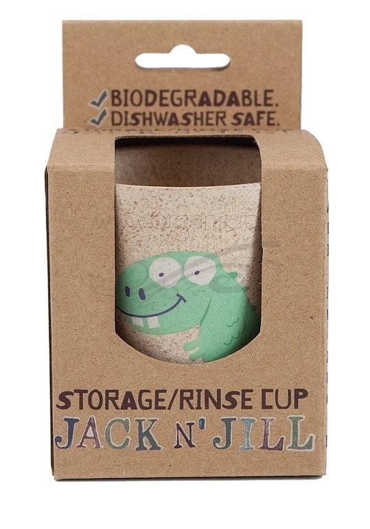 Pahar pentru clatire sau depozitare periuta de dinti, Dino - Jack n' Jill