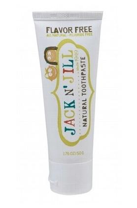 Pasta de dinti naturala pentru copii, fara aroma - Jack n' Jill