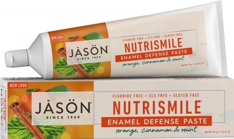 Pasta de dinti pentru prevenirea tartrului si cariilor Nutrismile, 119g - Jason