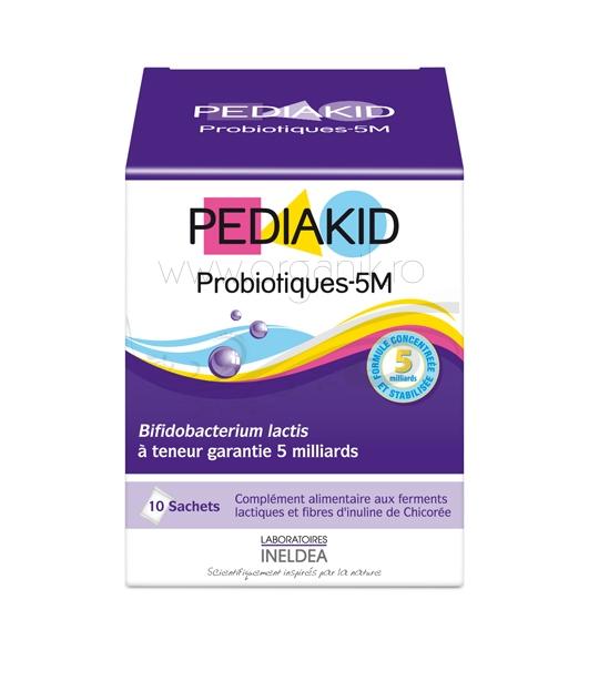 Pediakid PROBIOTICE 10M pentru copii, 10 plicuri- PEDIAKID