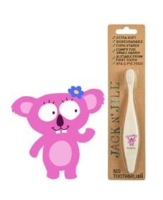 PROMO Periuta de dinti bebe & copii Koala, ambalaj usor deteriorat - Jack n' Jill
