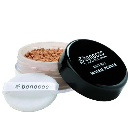 Pudra minerala libera Golden Hazelnut, 10g - Benecos