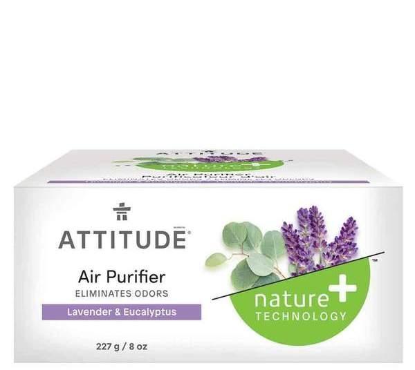 Purificator de aer ecologic cu uleiuri esentiale din eucalipt si lavanda - ATTITUDE
