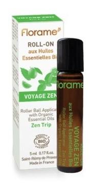 Roll-on uleiuri esentiale BIO Voyage Zen,  5ml - Florame