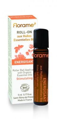 Roll-on uleiuri esentiale BIO Energizant, 5ml - Florame