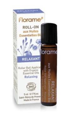 Roll-on uleiuri esentiale BIO Relaxant,  5ml - Florame