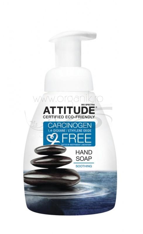 Sapun lichid de maini calmant, 295ml - ATTITUDE