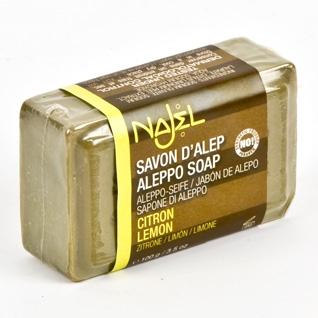 Sapun de Alep cu lamaie, 100 g - NAJEL