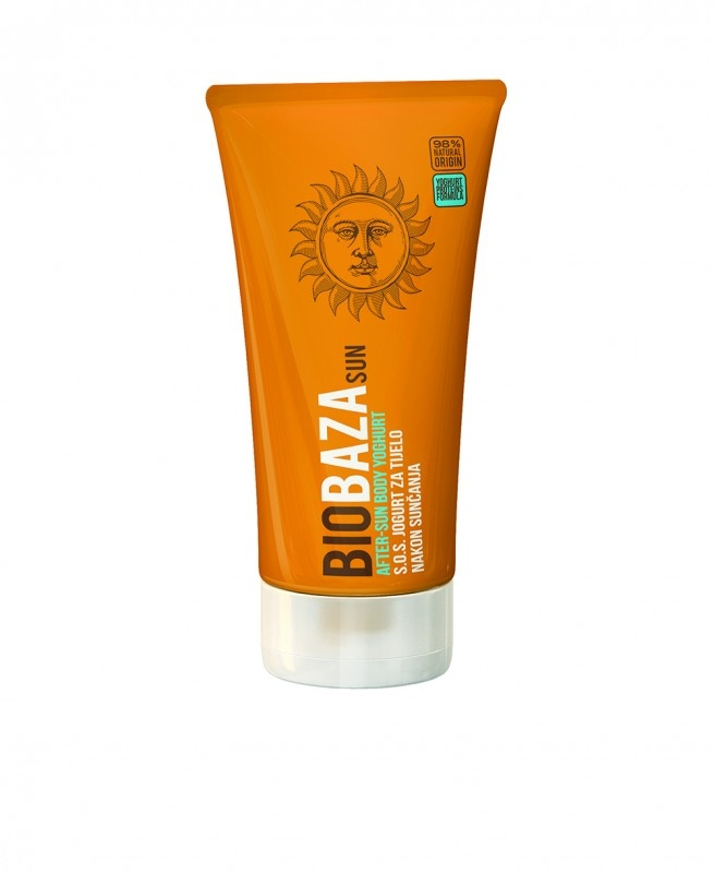Lotiune naturala calmanta after-sun cu iaurt, 150 ml - BIOBAZA
