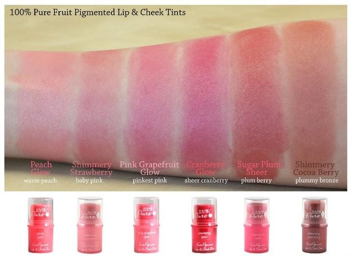 Nuantator satinat pentru buze si obraji Shimmery Cocoa - 100 Percent Pure Cosmetics