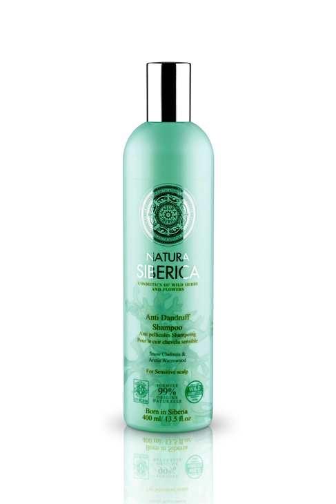 Sampon anti matreata pentru scalp sensibil, cu extract de pelin, 400 ml - Natura Siberica
