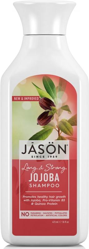 Sampon cu jojoba impotriva caderii parului,  473 ml - Jason