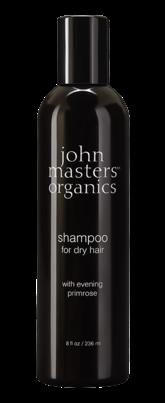 Sampon cu primula pentru par uscat, 236ml - John Masters Organics