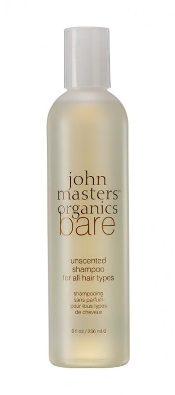 Sampon fara parfum pentru toate tipurile de par, 236 ml - John Masters Organics