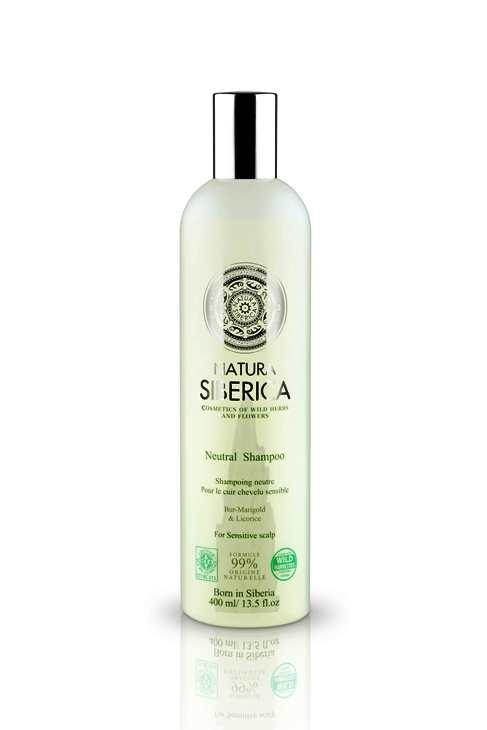 Sampon neutru pentru scalp sensibil cu extract de lemn dulce, 400 ml - Natura Siberica