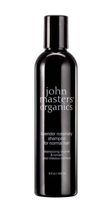 Sampon pentru par normal Lavanda & Rozmarin , 236ml - John Masters Organics