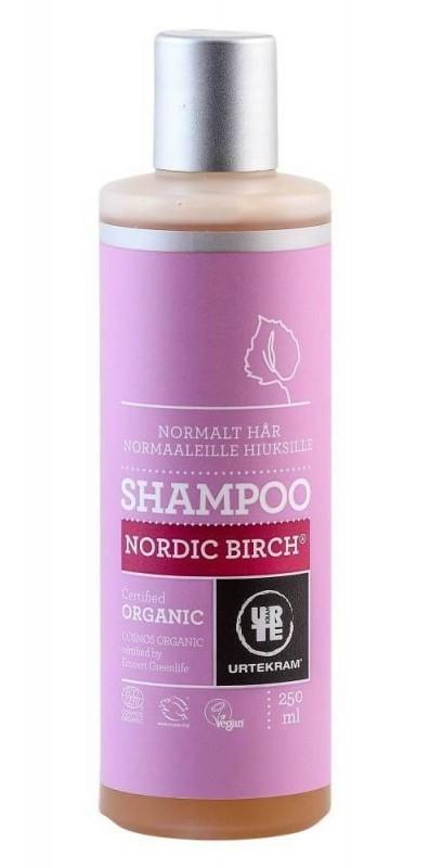 Sampon pentru par normal Nordic Birch, 250 ml - URTEKRAM