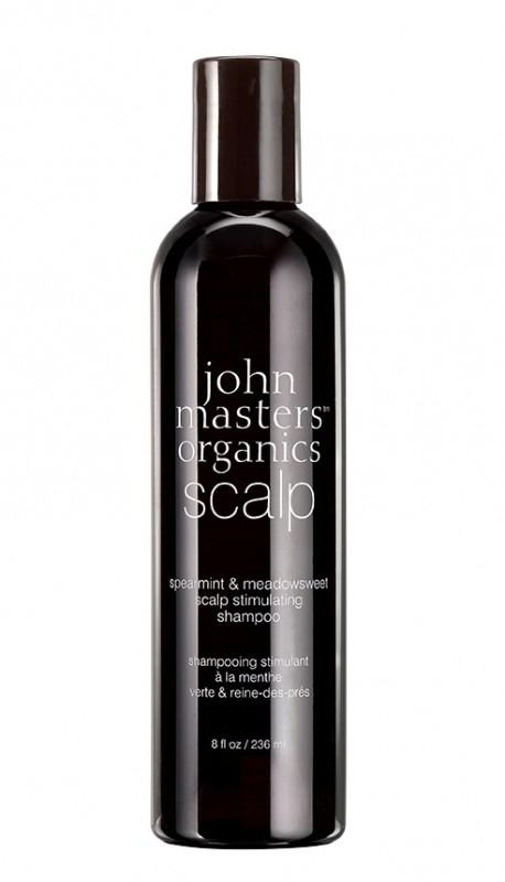Sampon pentru stimularea scalpului Menta & Cretusca, 236 ml - John Masters Organics