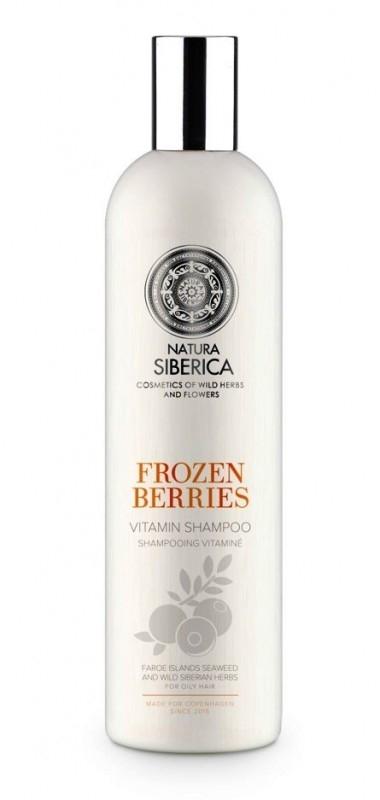Sampon vitaminizant pentru par gras Frozen Berries, Copenhagen 400 ml - Natura Siberica