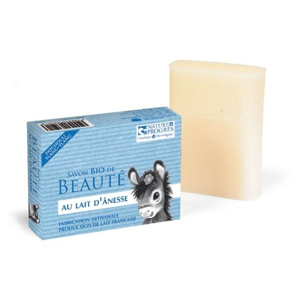 Sapun cu lapte de magarita si ulei esential de patchouli, ylang ylang - Cosmo Naturel