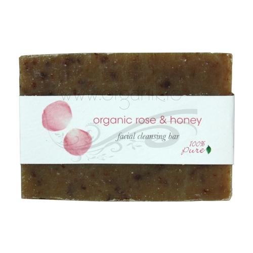 Sapun cu ovaz, miere si trandafiri pentru curatarea tenului - 100 Percent Pure Cosmetics