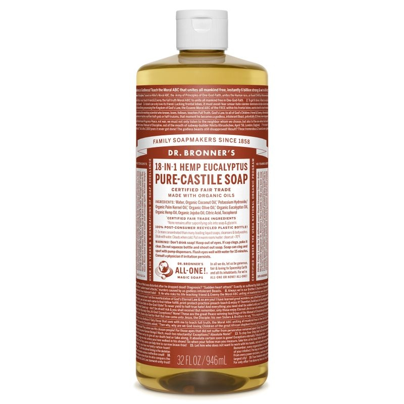 Sapun magic 18-in-1 Eucalipt, 946 ml - DR. BRONNER