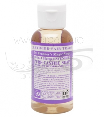Sapun magic 18-in-1 Lavanda, 59 ml - DR. BRONNER