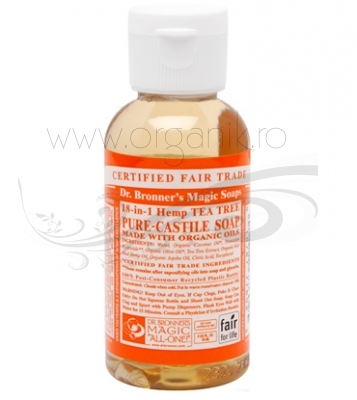 Sapun magic 18-in-1 Tea Tree, 59 ml - DR. BRONNER