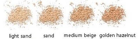 Pudra minerala libera Light Sand, 10g - Benecos