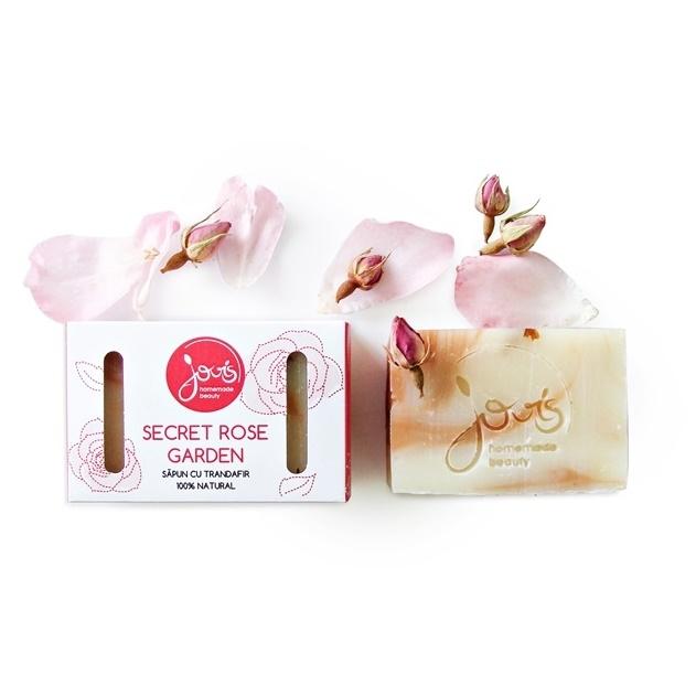 Sapun natural Secret Rose Garden - Jovis Homemade Beauty