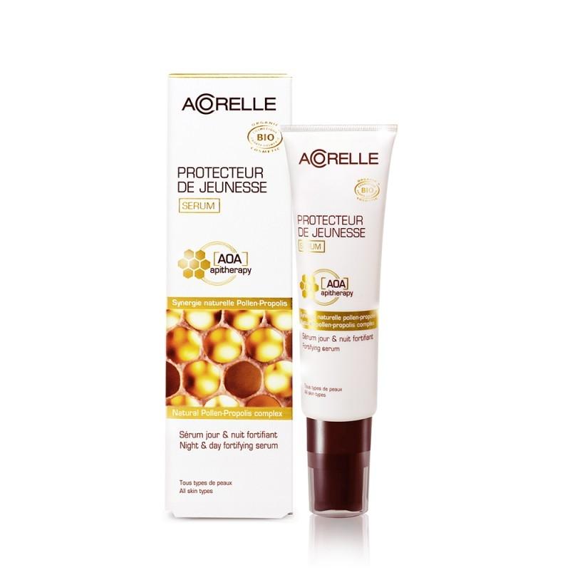 Ser antirid de zi si noapte cu polen si propolis, 30 ml - Acorelle