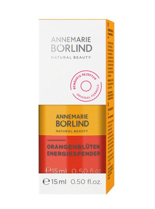 Ser energizant bifazic pentru ten obosit Orange Blossom, travel size 15ml - Annemarie Borlind