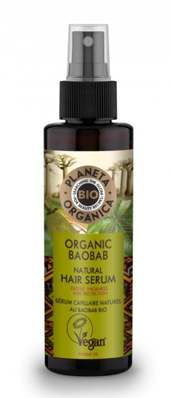 Serum volum si protectie pentru par, Organic Baobab, 150ml - Planeta Organica